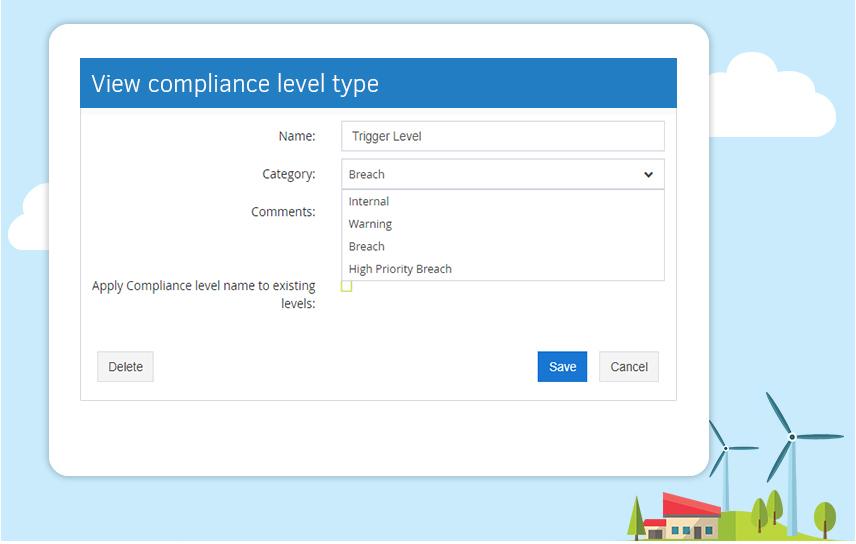compliance level type